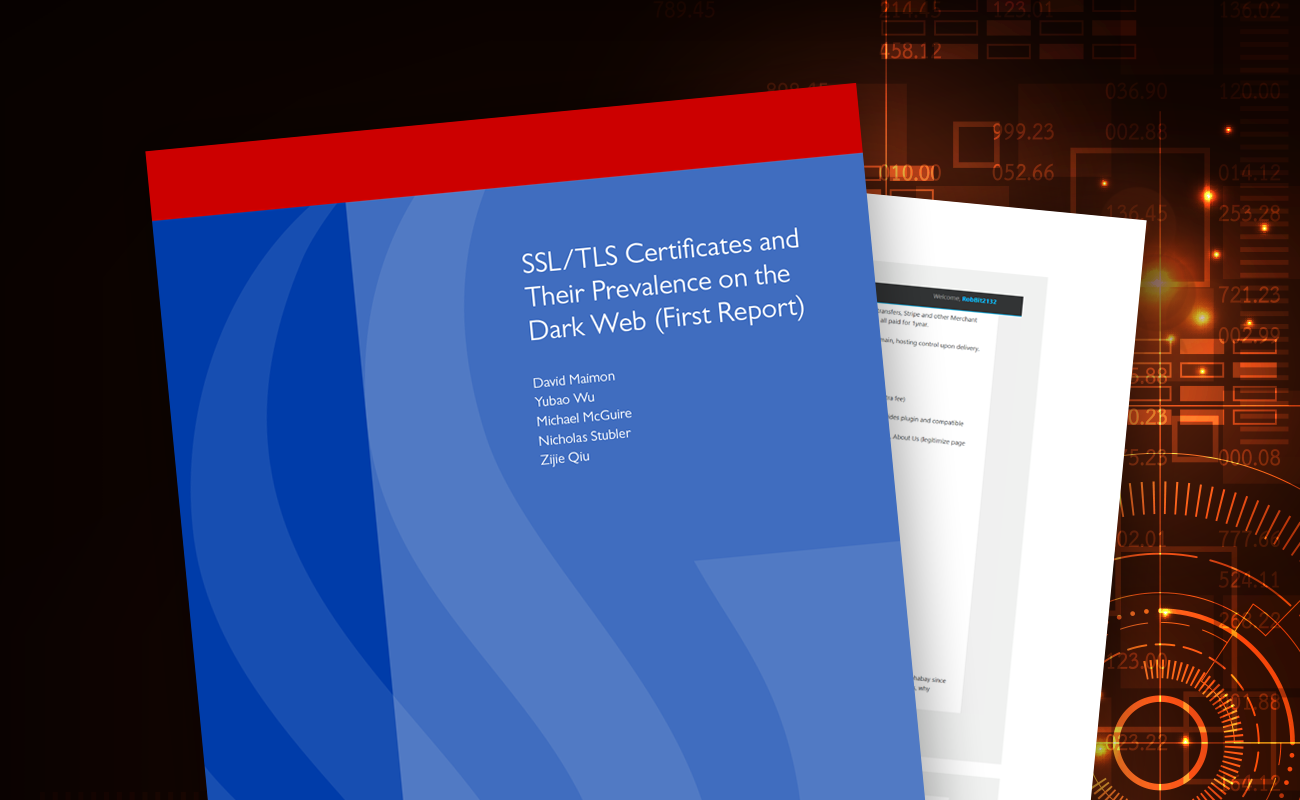 SSL/TLS Certificates and Their Prevalence on the Dark Web