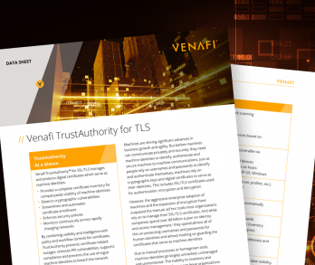 Venafi TrustAuthority for TLS