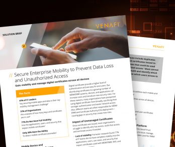 Mobility Protect Solution Brief
